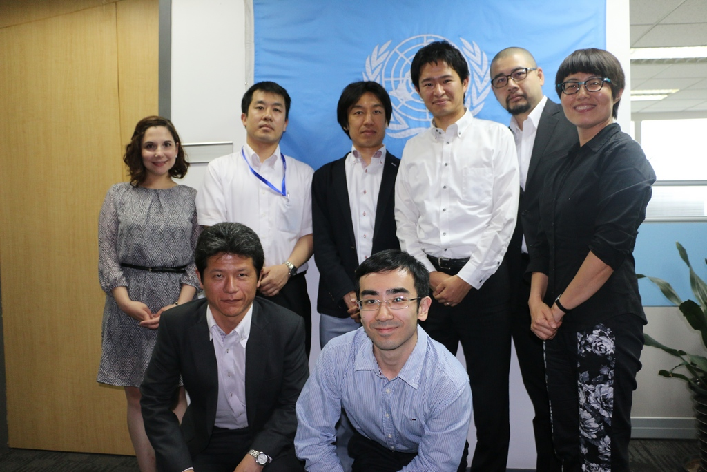 Meeting with Japanese Delegation on the Asian and Pacific Network for Testing of Agricultural Machinery (ANTAM)